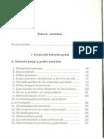 Estructura Basica Del Derecho Penal -Indice