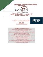 LAMPEA-Doc 2014 – numéro 37 / Vendredi 5 décembre 2014