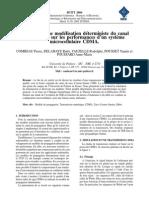 Influence Dune Modélisation Déterministe Du Canal