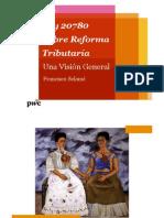 2014 10 01 Presentación PwC - La Reforma Reformada
