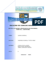 Informe de Calidad de Agua-chiquian