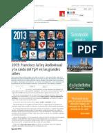 Francisco, La Ley Audiovisual y La Caída Del FpV en Las Grandes Urbes