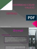 Analisis de Colocacion de Drywall
