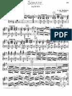 Beethoven Piano Sonata No. 16 Op. 31 No. 1 I. Allegro Vivace