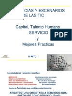 TENDENCIAS Y ESCENARIOS DE LAS TIC