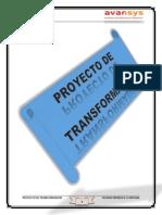 Proyecto Sobre Un Transformador Monofásico