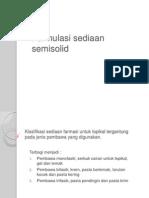 Formulasi Sediaan Semisolid
