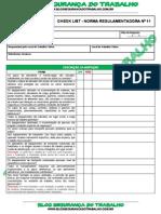 _Modelo Check List - Norma Regulamentadora Nº 11 - Blog Segurança Do Trabalho