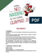 Torneo Navideño Tochito Guaymas 2014 Reglas