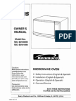 Kenmore Microwave Manual
