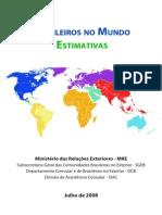 Brasileiros No Mundo - Estimativas