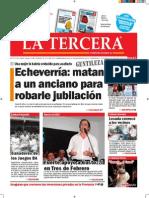 Diario La Tercera 5.12.2014