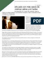 Chile Es El Cuarto País Con Más Casos de Femicidio en América Latina y El Caribe _ Nacional _ LA TERCERA