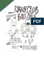 german club bake sale-12-10-14