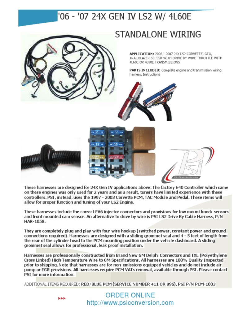 Gm Wiring Parts