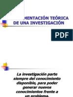Fundamentacion Teorica Investigacion