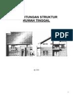 Perhitungan Struktur Rumah Tinggal