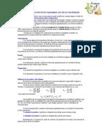 FACTORES en Principio de Le Chatelier