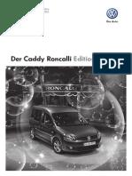 Caddy Roncalli Edition 2011-11