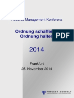 [DE] Records Management Konferenz 2014 | Dokumentation Download | #RMK2014