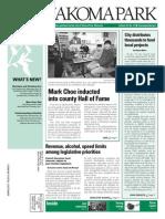 Takoma Park Newsletter - December 2014