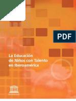 Educacion Ninos Talento Iberoamerica