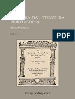 História da literatura portuguesa Teófilo de Braga