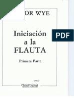 Iniciación a La Flauta - Flauta Traversa Primera Parte - Trevor Wye