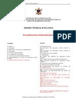Nt-01 2014 Procedimentos Administrativos