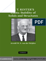 Van Der Heijden a.M.a. (Ed.) W. T. Koiter's Elastic Stability of Solids and Structures (CUP, 2009)(ISBN 0521515289)(O)(240s)_EM