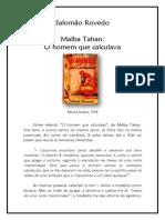 Salomão Rovedo - Malba Tahan - O Homem Que Calculava