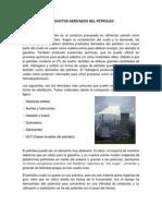 Productos Derivados Del Petroleo