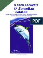 2007 Archer SuperBar Catalog 1