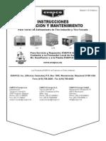 Manual de Instrucciones EVAPCO