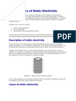 Basics of Static Electricity