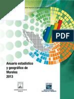 DPN_MI_A6_C3 Anuario Estadístico de Morelos 2013