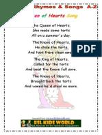 Nursery Songs Q-T