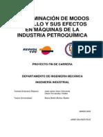 Determinacion de Fallas y Modos de Falla Industria Petroquimica