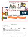 Health and Family Life Education Curriculum Guides (2009)