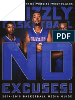 2014-2015 Grizzly Basketball Media Guide