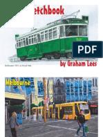 Tram Sketch Book Print