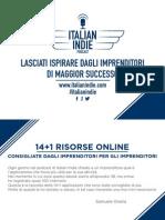 14+1 Risorse Italian Indie