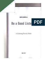 Be a Good Listener by Gabriella Hartai
