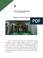 PROGRAMA DE RESIDENCIAS EAC _ plan estratégico 2014-  2015