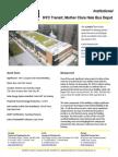 SolarWall Case Study - NYC Transit, Mother Clara Hale Bus Depot solar air heating system