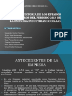 Auditoria Industrias Loo Sac Final