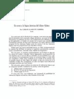 En Torno a La Logica Deontica Del Último Kelsen