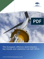 European Offshore Statistics 1st-Half 2014