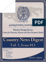 CERES News Digest Vol.5 Week 13; Dec. 1-5