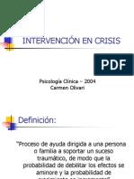 Clase Intervencion en Crisis